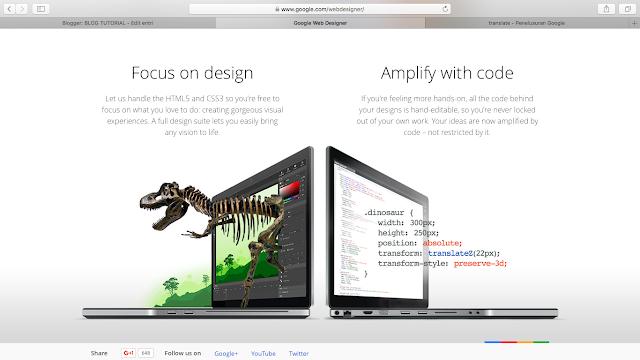 Google Web Designer - Editor HTML5