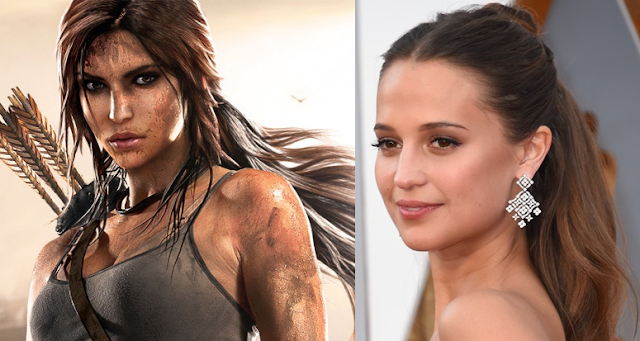 Lara Croft, Alicia Vikander, Tom Rider, Cinema, Terra de Nerd,