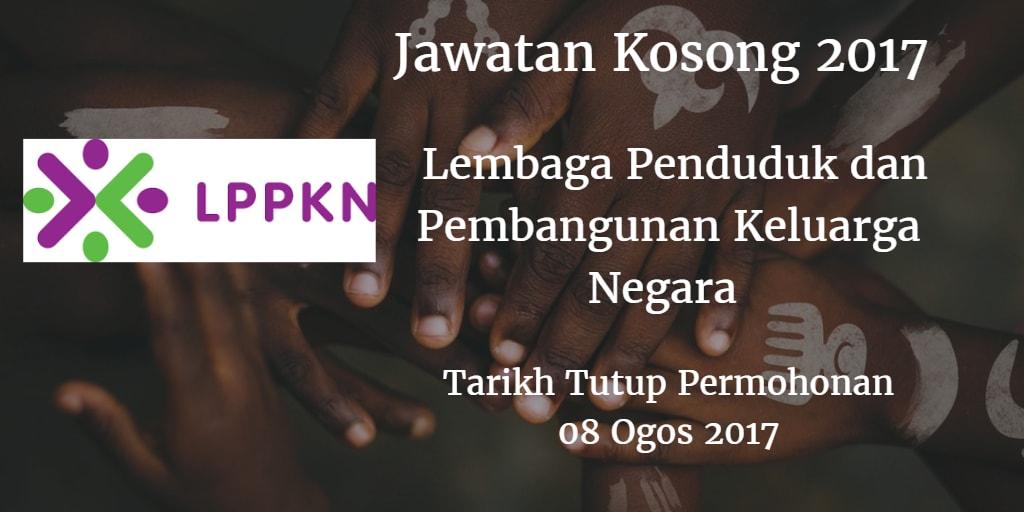 Jawatan Kosong LPPKN 08 Ogos 2017