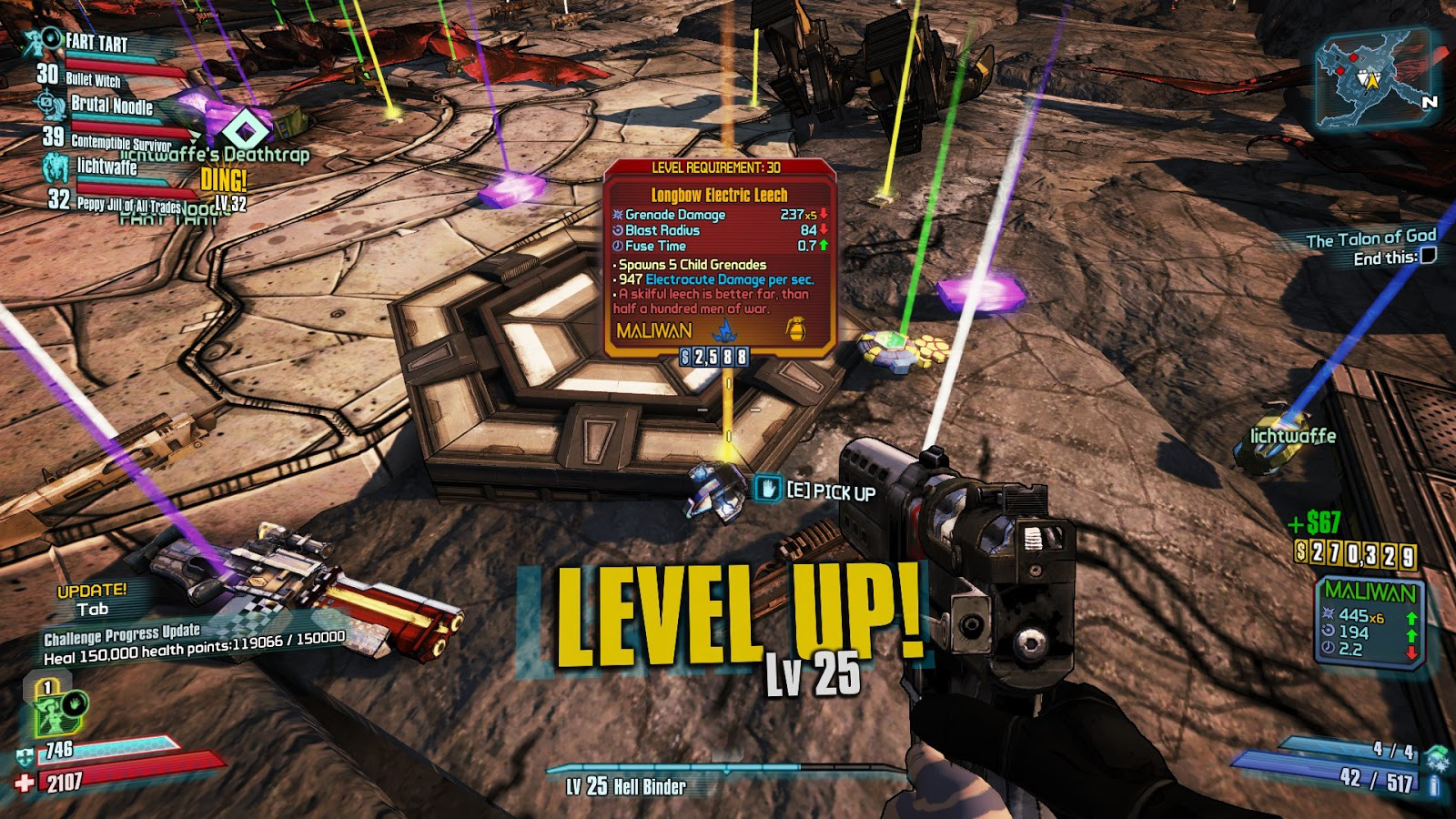 The Nocturnal Rambler: Gearbox: Why You Nerf