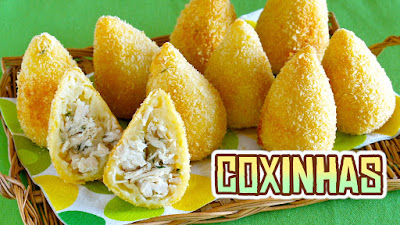 Coxinhas brazilian chicken croquettes made in japan video recipe coxinha is a very popular street food snack in brazil forumfinder Choice Image