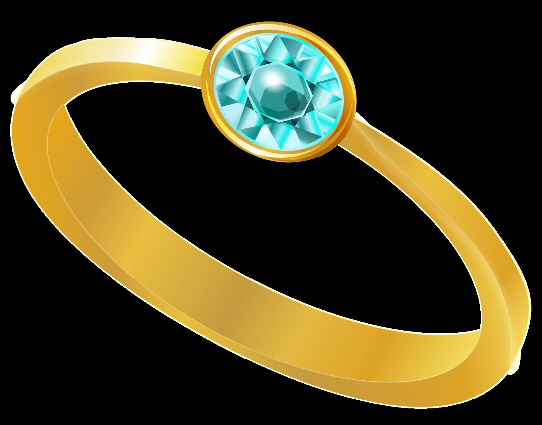 redner anillo de diamante azul