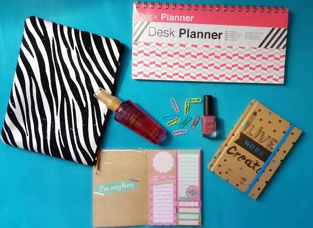 bag, box, tunisienne, oh my bag, tunisie, desk planner,