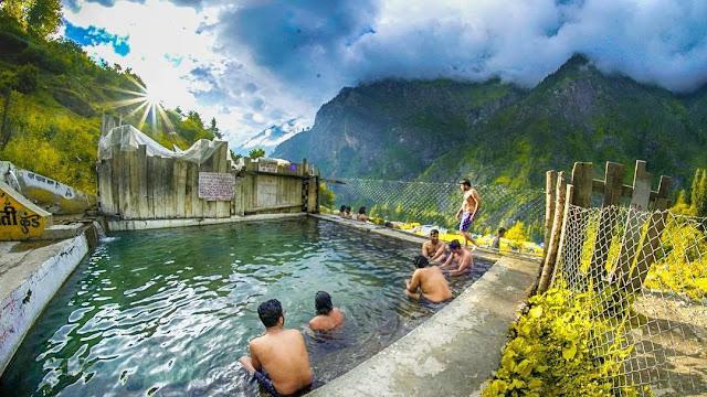 Kheergnaga hot water pool