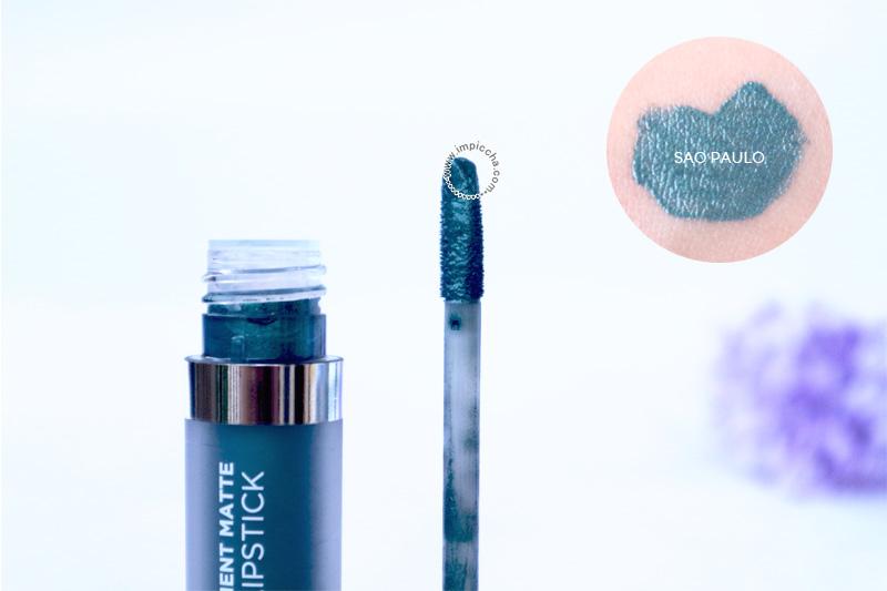 Mineral Botanica Ultra Pigment Matte Liquid Lipstick -  014 Sao Paulo