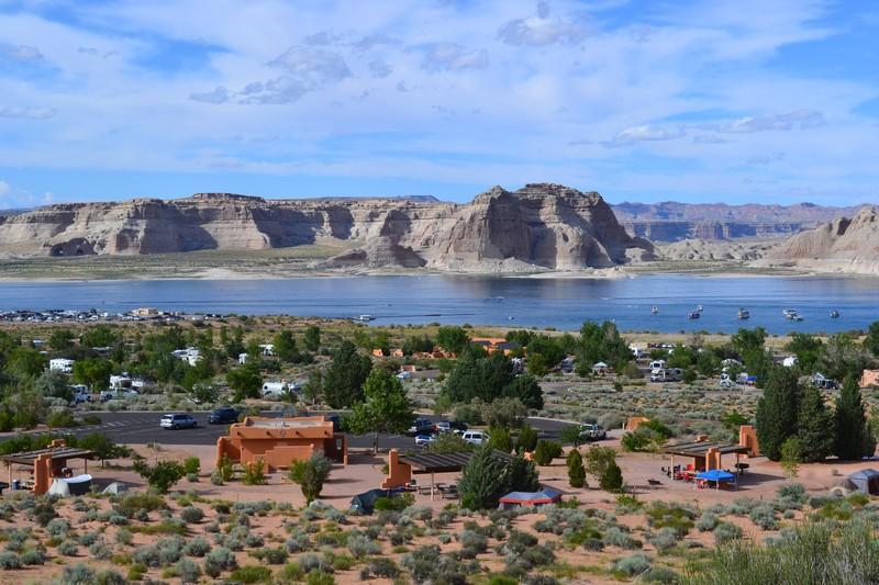 wahweap rv park, glen canyon, lac powell utah