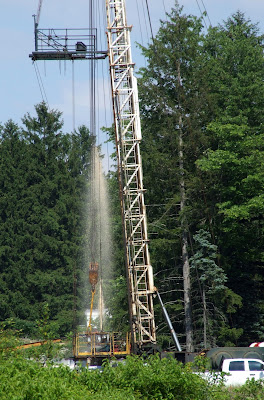 fluids blowing out of Coitsville, Ohio injection well