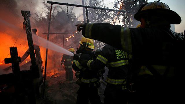 """Netanyahu: """"Cada fuego causado por un incendio provocado es terrorismo"""""""