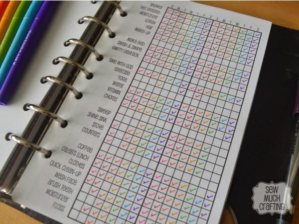 Routine Checklist {{Planner Organization}}