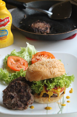Homemade Beef Burger