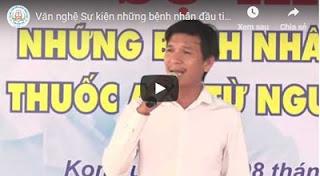 Văn nghệ sự kiện những bệnh nhân đầu tiên nhận thuốc ARV từ BHYT tại Kon Tum