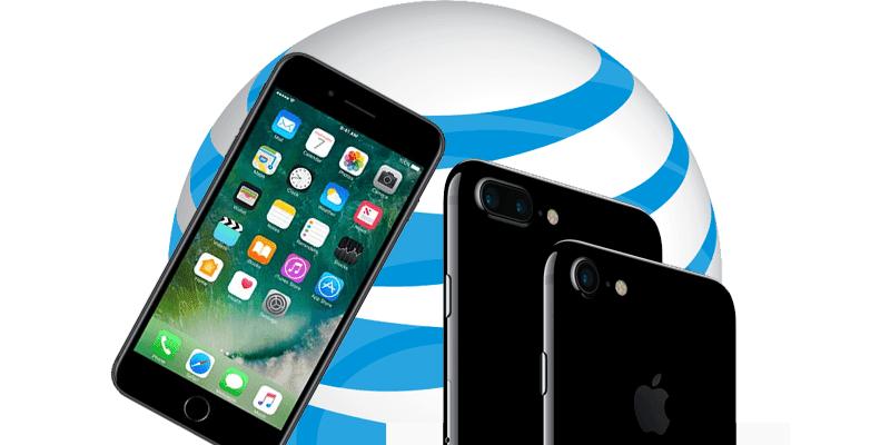 unlock at&t iPhone 7