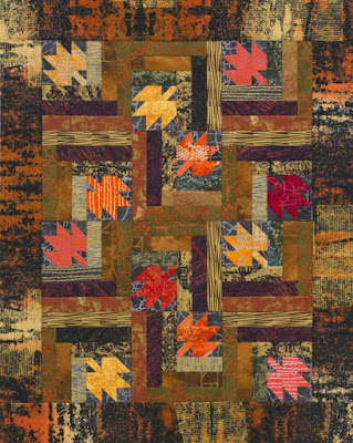 Quilt Inspiration: Free Pattern Day ! Autumn Leaves quilts : fall quilt patterns free - Adamdwight.com