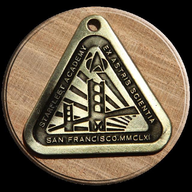 Starfleet Academy San Francisco 2161 insignia pendant