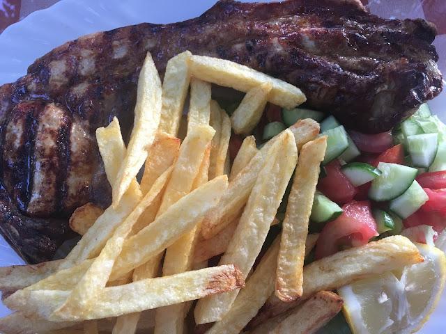 Pork Chop at Klimataria, Mandria, Paphos, Cyprus