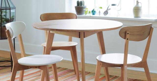 Meja Makan Kayu Terbaik dari IKEA