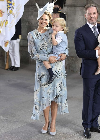 Queen Silvia, Crown Princess Victoria, Prince Oscar, Princess Estelle, Princess Sofia, Prince Alexander, Princess Madeleine, Princess Leonore, Prince Nicolas, Princess Birgitta, Princess Christina, Princess Désirée