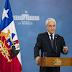 Piñera anuncia medidas respecto al Coronavirus