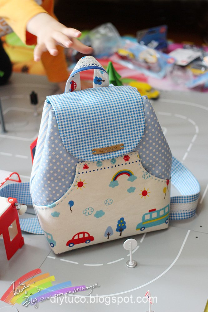 Tutorial: How To Make A Small Children Backpack