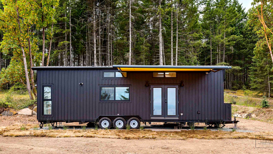 The Latest From Mint Tiny House Company Is This Stunning 36 Home With Double Slide Outs Towable And A Ious Interior It Would Be Perfect As