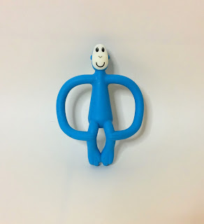 Matchstick Monkey Teether front