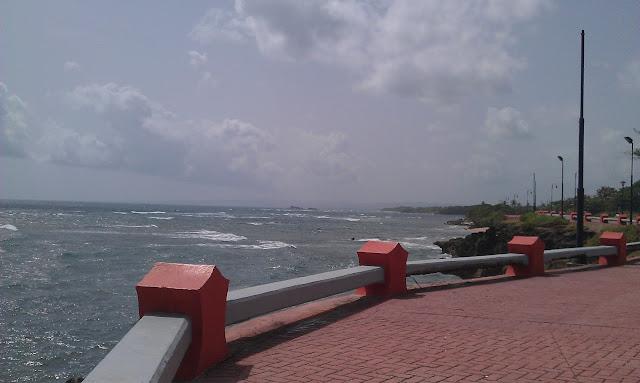 El lindo Malecón de Puerto Plata