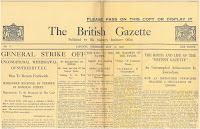 British Gazette, May 13, 1926
