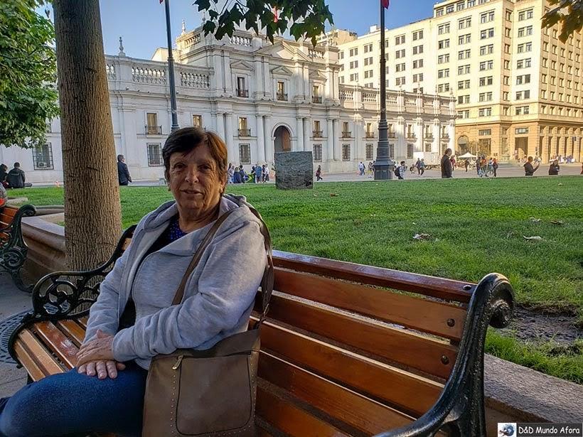 Palácio de la Moneda - Diário de Bordo Chile: 8 dias em Santiago e arredores