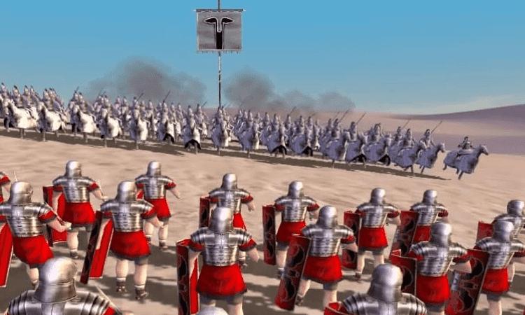 تحميل لعبة 1 rome total war بحجم صغير مجانا