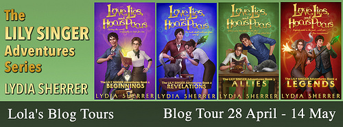 [Blog Tour] THE LILY SINGER ADVENTURES by Lydia Sherrer @LydiaSherrer @lolasblogtours #UBReview #Excerpts #Top5Lists #Giveaway