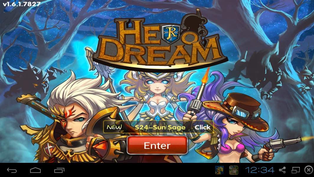 Review Game Android : Hero Dream - Disini Aja Tempatnya