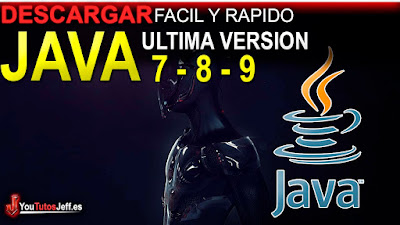 Descarga java 7, 8 o 9 en tu pc totalmente gratis, ya seas de 32 o 64 bits, obtenlo ya en tu pc.