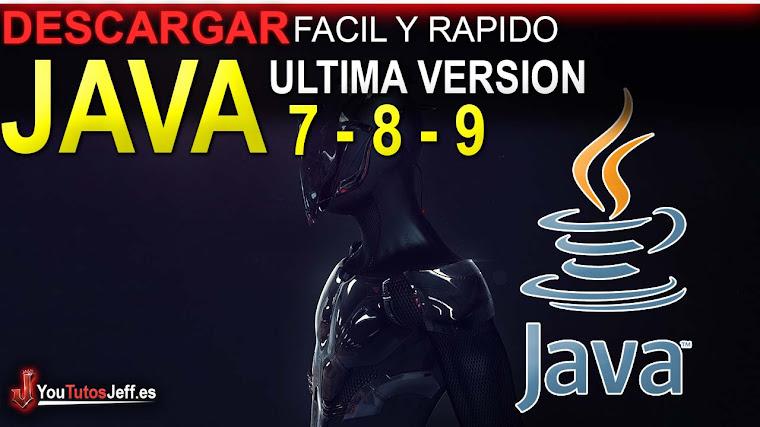 Como Descargar Java 7, 8 o 9 Ultima Versión 2018 FULL ESPAÑOL - 32 y 64 Bits