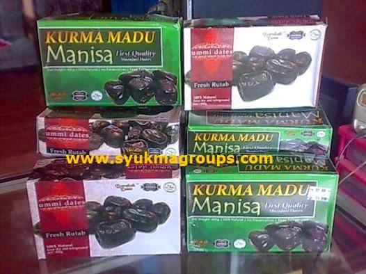 Kurma Madu Manisa dan Ummi Dates Fresh Rutab - Mozafati Dates