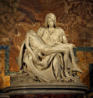 La Pietà is a highlight of any visit to St Peter's Basilica in Rome