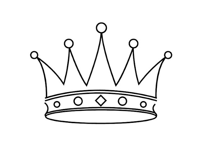 coloriage couronne de reine