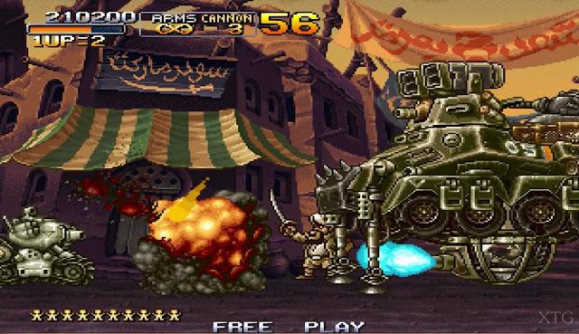 Metal Slug Anthology screenshot 1