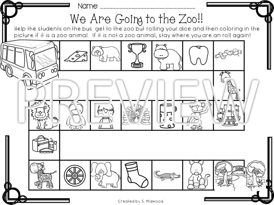 Lovin' Little Learners: We're going to the Zoo!!