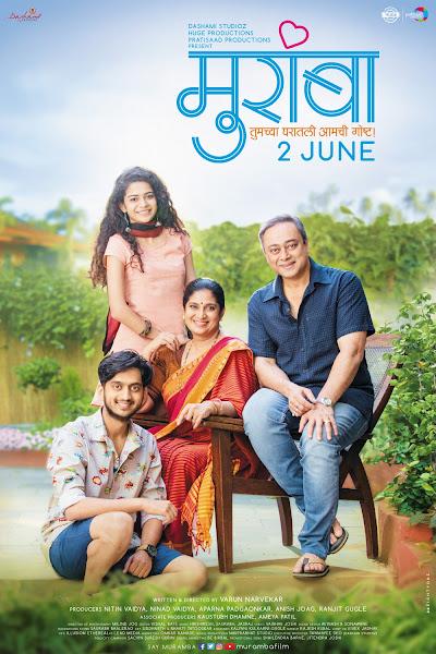 Poster of Muramba (2017) Full Movie Marathi 720p HDRip Free Download