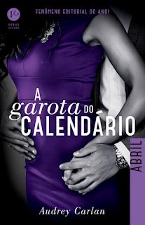 RESENHA: A Garota do Calendário (Abril) - Audrey Carlan