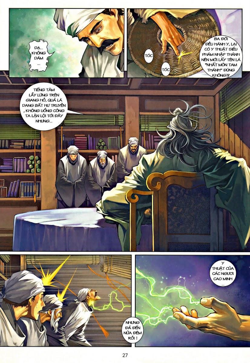 Ôn Thụy An Quần Hiệp Truyện chap 37 trang 26