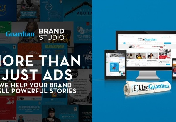 Guardian Brand Studio consists of a team of writers, designers, videographers, developers and researchers that work with advertisers to create branded content to reach influential and well educated audiences in Nigeria