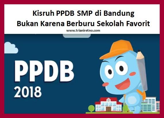 Kisruh PPDB SMP di Bandung