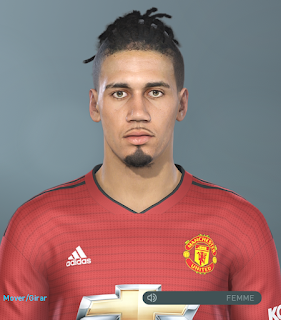 "PES 2019 Faces Chris ""Mike"" Smalling By Hugimen"