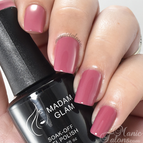 Madam Glam Gel Vintage Pink Swatch