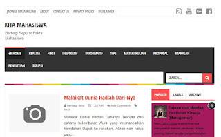 Blog Fenomenal News Kita Mahasiswa Org