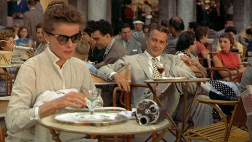 Katharine Hepburn in Summertime
