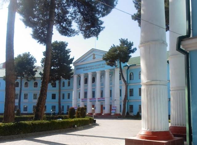 Таджикский Медецинский Университет. Фото города Душанбе 60-ых годов и фото тех же мест в 2015 году.