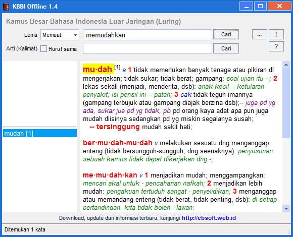 KBBI Offline 1.4