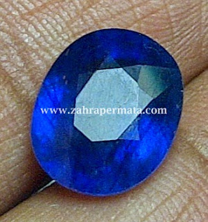Batu Permata Royal Blue Safir